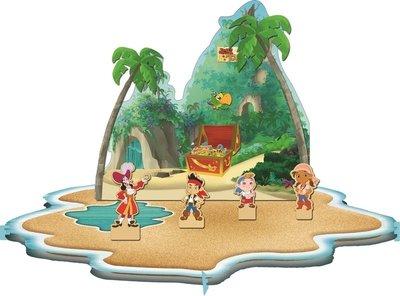 Disney Jake en de Nooitgedachtland piraten tafel decoratie