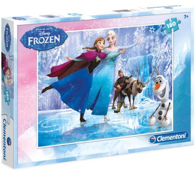 Disney Frozen puzzel Skating met 180 stukjes