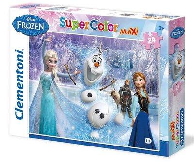 Disney Frozen Maxi puzzel 68x48cm met 24 stukken