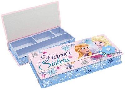 Disney Frozen sieraden opberg doosje met elastiek roze