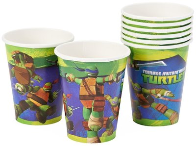 Teenage Mutant Ninja Turtles party bekers