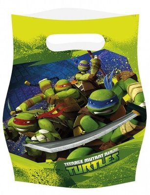 Teenage Mutant Ninja Turtles uitdeelzakjes