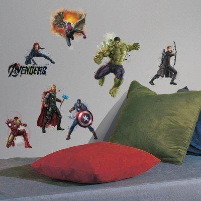 The Avengers 14 delig wanddecoratie muurstickers set Age of Ultron