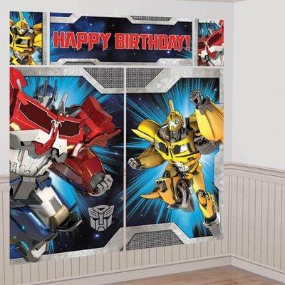 Transformers XXL verjaardagsbanner