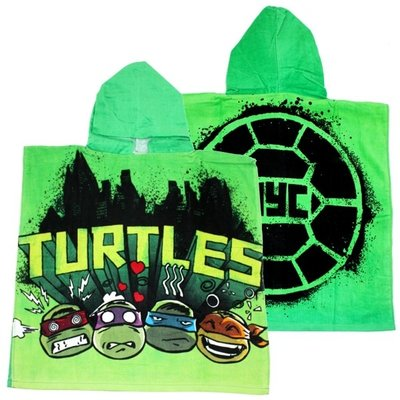 Teenage Mutant Ninja Turtles poncho