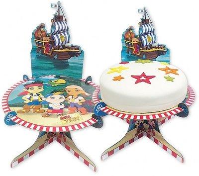 Disney Jake en de Nooitgedachtland piraten taart standaard