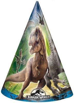 Jurassic World feest hoedjes