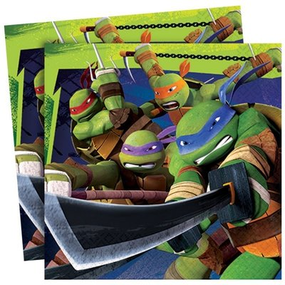 Teenage Mutant Ninja Turtles servetten