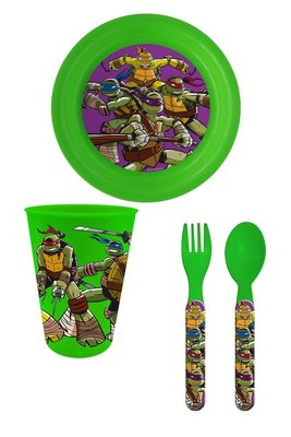Teenage Mutant Ninja Turtles camping ontbijt set