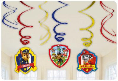 Paw Patrol plafond decoratie