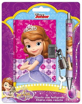 Sofia het Prinsesje dagboek met pen en slotje