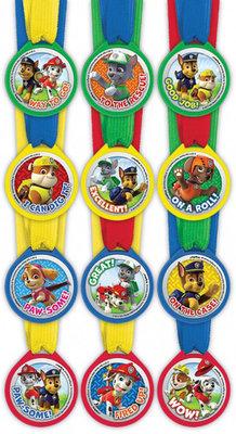 Paw Patrol medailles