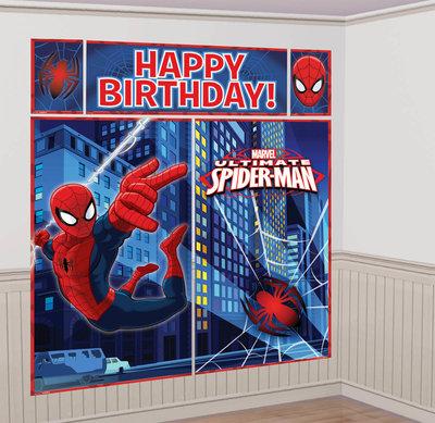Spiderman banner in XL formaat