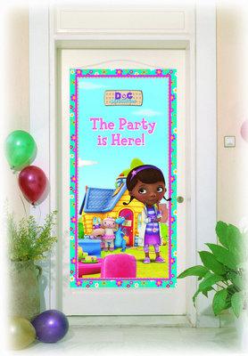 De Speelgoed Dokter verjaardag deurbanner