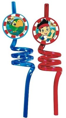 Disney Jake en de Nooitgedachtland piraten twister rietjes