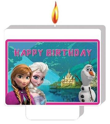 Disney Frozen verjaardag taart kaars