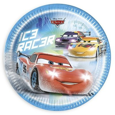 Disney Cars party bordjes Ice