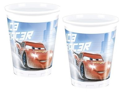Disney Cars party bekers Ice