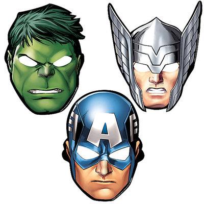 The Avengers feest maskers Assemble