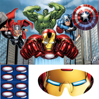 The Avengers party game