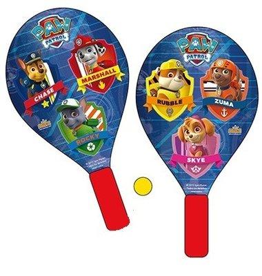 Paw Patrol strand tennis set