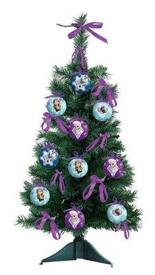 Disney Frozen kerstboom met decoratie