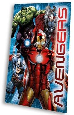 The Avengers fleece deken Iron Man