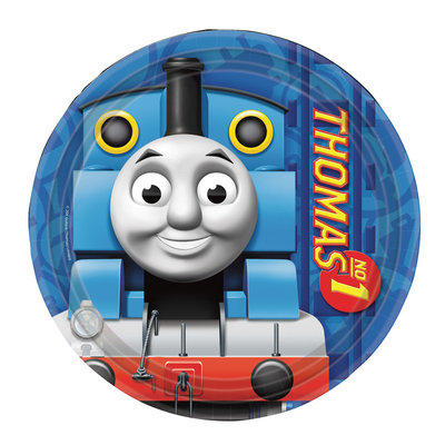 Thomas de Trein gebakbordjes