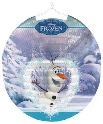 Disney Frozen Olaf lampion rond