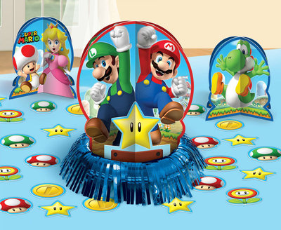 Super Mario tafel decoratie set
