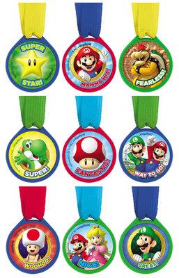 Super Mario medailles