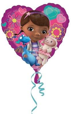 De Speelgoed Dokter foil ballon hart