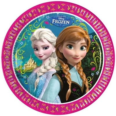 Disney Frozen party bordjes Alpine