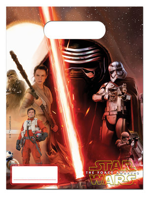 Star Wars The Force Awakens uitdeelzakjes