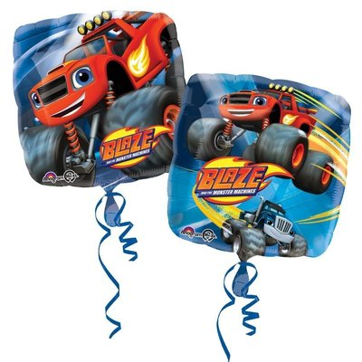 Blaze en de Monsterwielen folie ballon