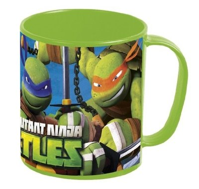 Teenage Mutant Ninja Turtles kunststof mok