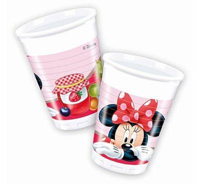 Disney Minnie Mouse party bekers Jam