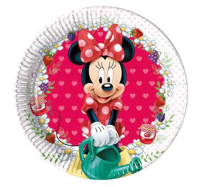 Disney Minnie Mouse gebaks bordjes
