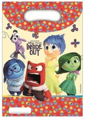 Inside Out uitdeelzakjes