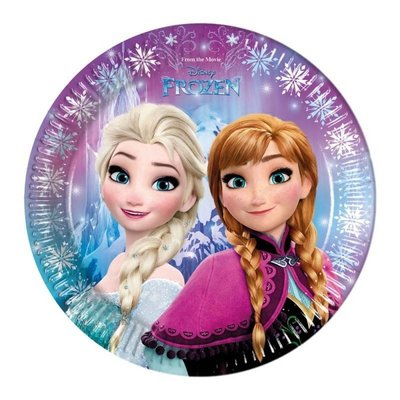 Disney Frozen party bordjes Noorderlicht
