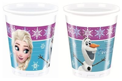 Disney Frozen party bekers Noorderlicht
