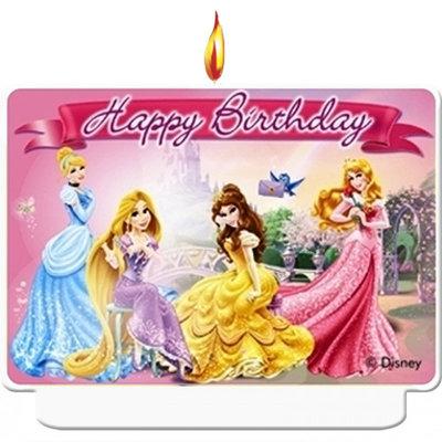 Disney Princess verjaardag taart kaars