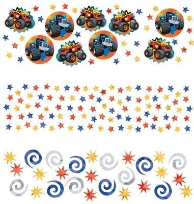 Blaze en de Monsterwielen confetti