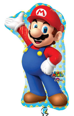 Super Mario folie ballon shape