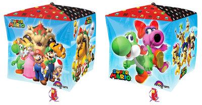 Super Mario folie ballon Cubez