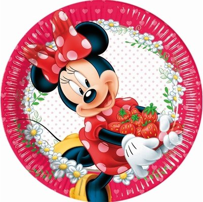 Disney Minnie Mouse party bordjes