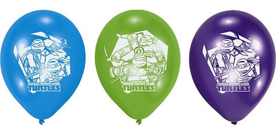 Teenage Mutant Ninja Turtles ballonnen Tricolor