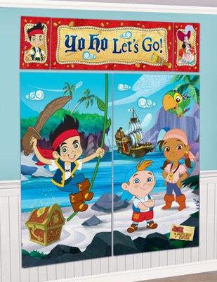 Disney Jake en de Nooitgedachtland piraten XXL verjaardagsbanner