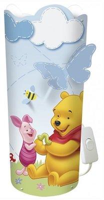 Disney Winnie de Pooh lamp met dimmer incl spaarlamp