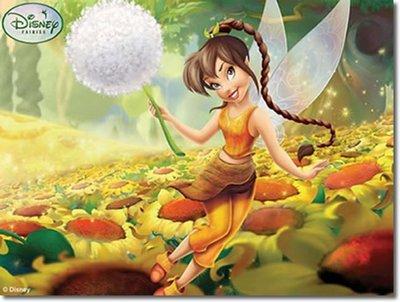 Disney Tinkerbell canvas schilderij 30x22cm B